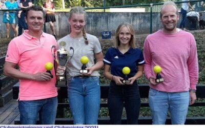 Clubmeisterschaften des Tennisclub Malsch e. V. 2021